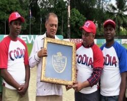 Dirección nacional del CODIA dedica torneo a director de CORAASAN