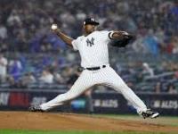 #Audio #Entrevista al dominicano #LuísSeverino, lanzador de Los #Yankees de #NewYork en #MLB, luego de la #Victoria del #Juego 4 #Postemporada2017