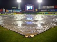 Lluvias posponen juegos beisbol dominicano
