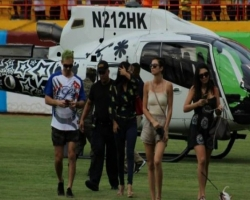 IDAC suspenden licencia a piloto que aterrizó con Karim Abu Naba'a en el estadio del Cibao