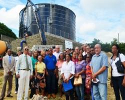 CORAASAN realiza recorrido con coordinadores juntas de vecinos zona sur