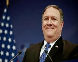Pompeo dice EE.UU. apoyará el futuro democrático del país