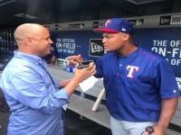 #Audio: #Entrevista al dominicano #AdrianBeltré, tercera base de Los #Rancheros de #Texas en #MLB