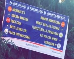 Alcaldía de Santiago da a conocer nombres de las empresas que no pagan