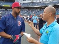 #Audio: #Entrevista al dominicano #EduardoNúñez, designado de Los #MediasRojas de #Boston en #MLB