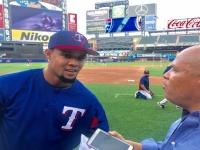 #Audio: #Entrevista al dominicano #CarlosGómez, jardinero de Los #Rancheros de #Texas en #MLB