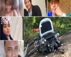 Tres jóvenes muertos y dos heridos al deslizarse un vehículo en Platanito
